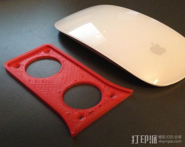 苹果鼠标适配器 3D模型  图1
