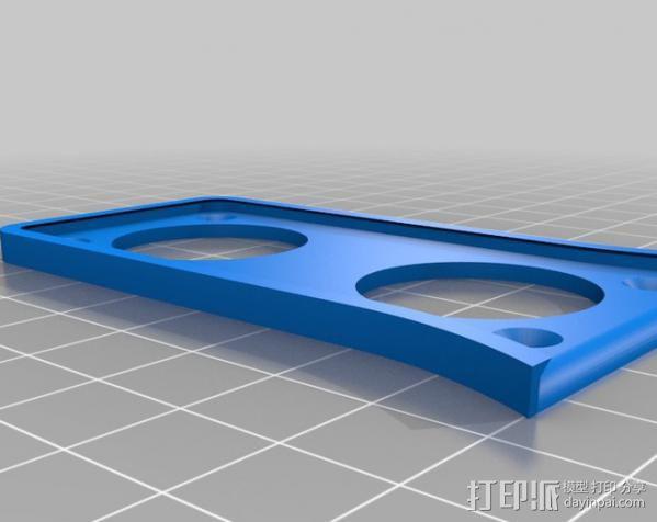 苹果鼠标适配器 3D模型  图2