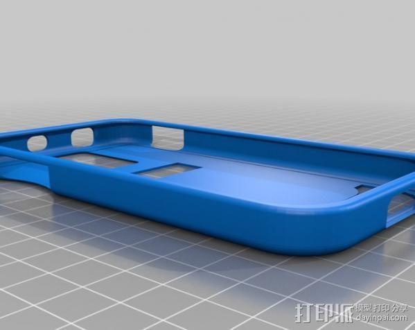 Samsung Galaxy SII手机壳 3D模型  图1