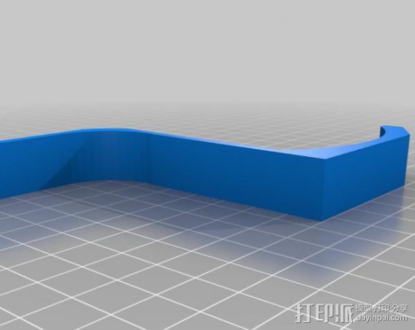 iMac耳机支架 3D模型  图2