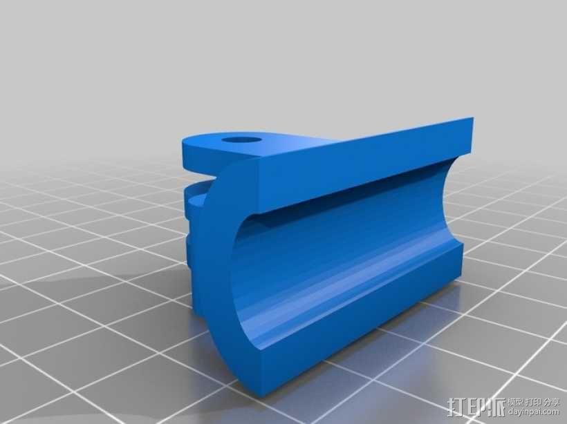 gopro适配器 3D模型  图6