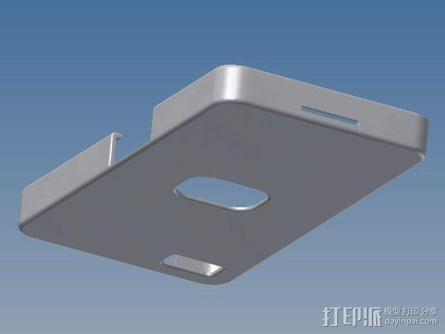 Basic Blackberry Z10 手机壳 3D模型  图1