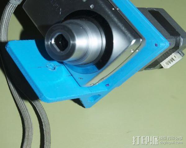 相机适配器 3D模型  图2
