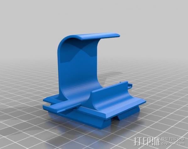 Sony Action Cam 适配器 3D模型  图3