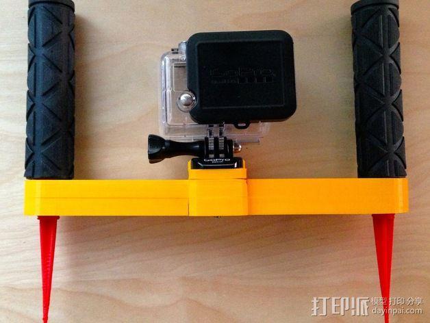 GoPro支架 3D模型  图1