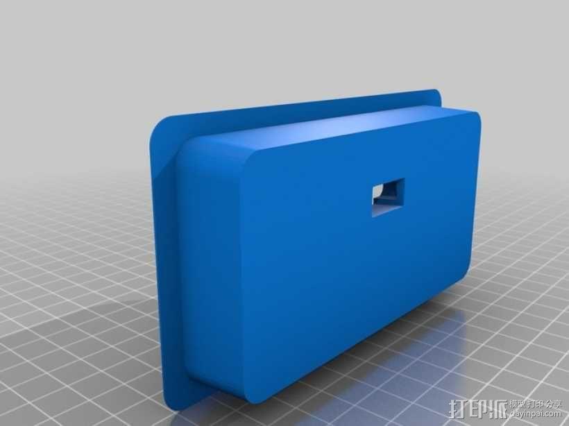 车载手机座 3D模型  图1