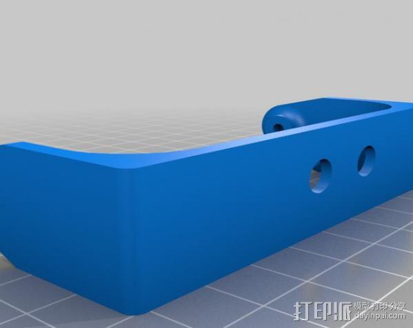 GoPro Hero3壳子 3D模型  图2