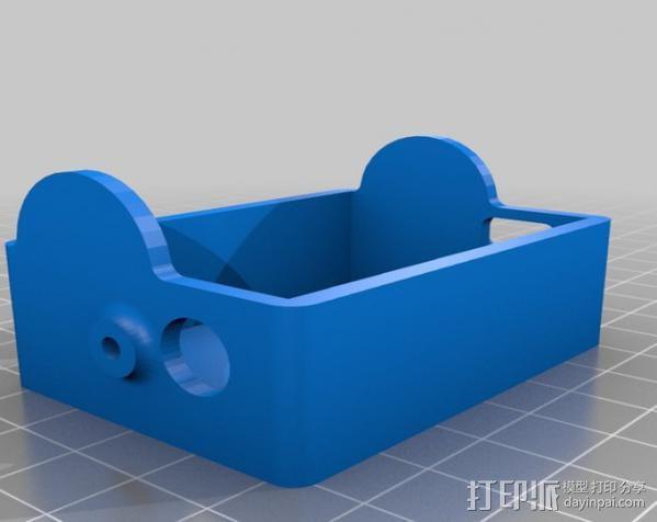 GoPro Hero3壳子 3D模型  图1