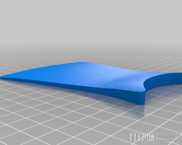 手杆底座 3D模型  图3