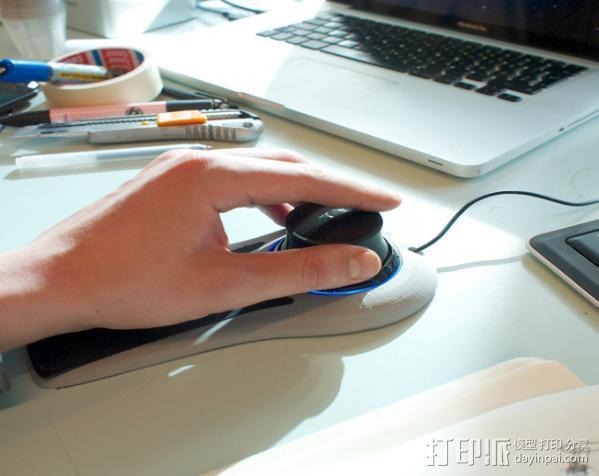 手杆底座 3D模型  图5