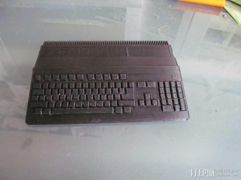 Amiga 500 电脑 3D模型  图2