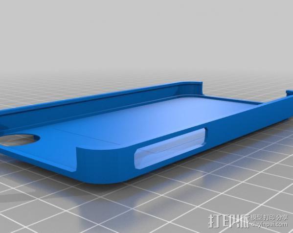 iPhone 4/4S手机壳 3D模型  图1