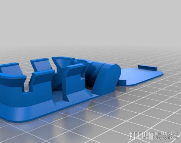 绕线器 3D模型  图7