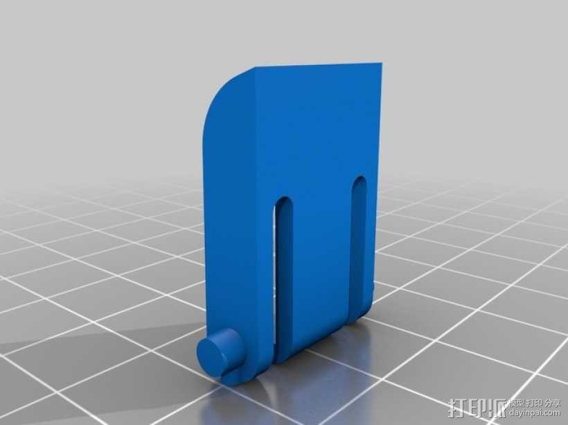 键盘支架 3D模型  图1