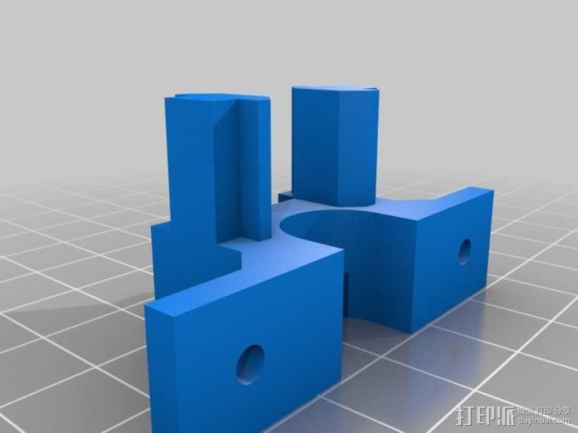照相机滑块 3D模型  图1