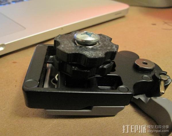 照相机滑块 3D模型  图2