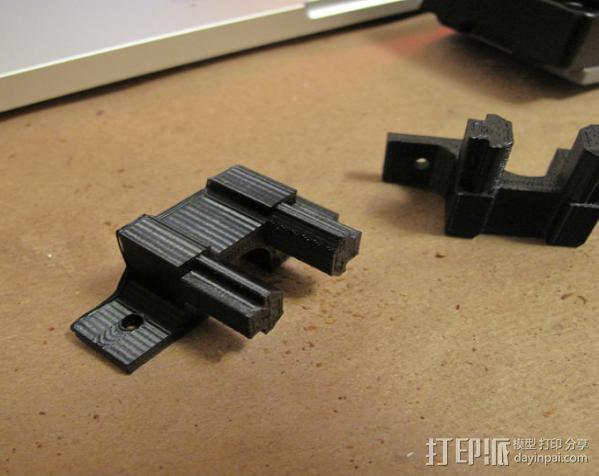 照相机滑块 3D模型  图3