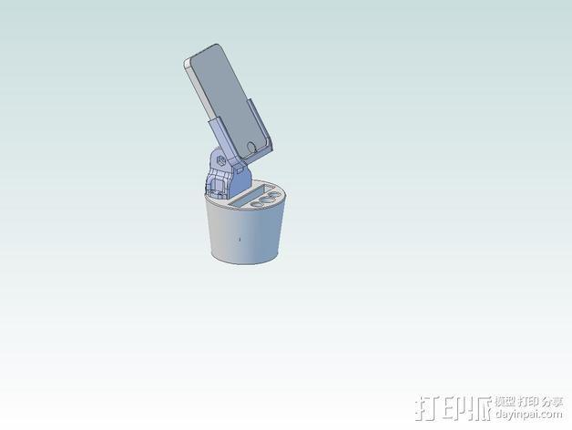 iPhone5杯子手机座 3D模型  图1