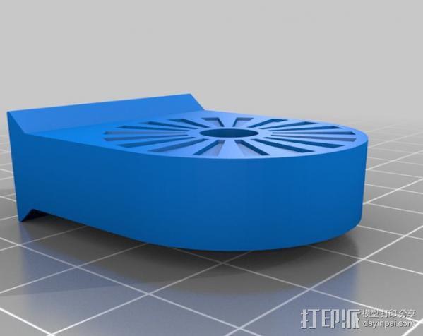 iPhone5杯子手机座 3D模型  图4