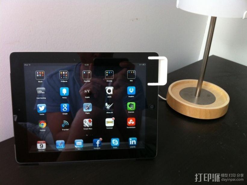 iPad 2+3扩音器 3D模型  图3
