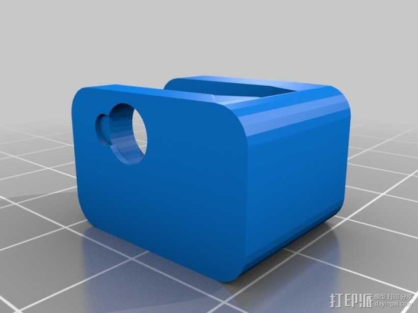 iPhone 5放大镜 3D模型  图3