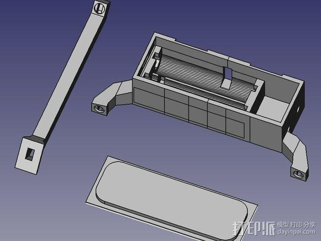 电路集成器 3D模型  图4