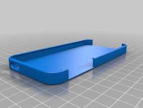 iPhone 5手机壳 3D模型