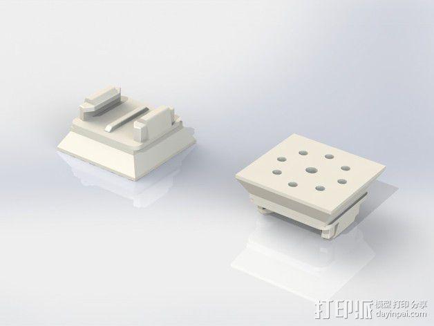 GoPro挂载 3D模型  图1
