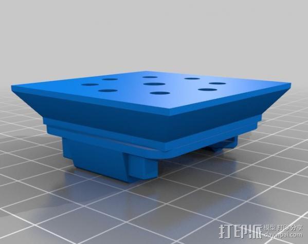 GoPro挂载 3D模型  图2