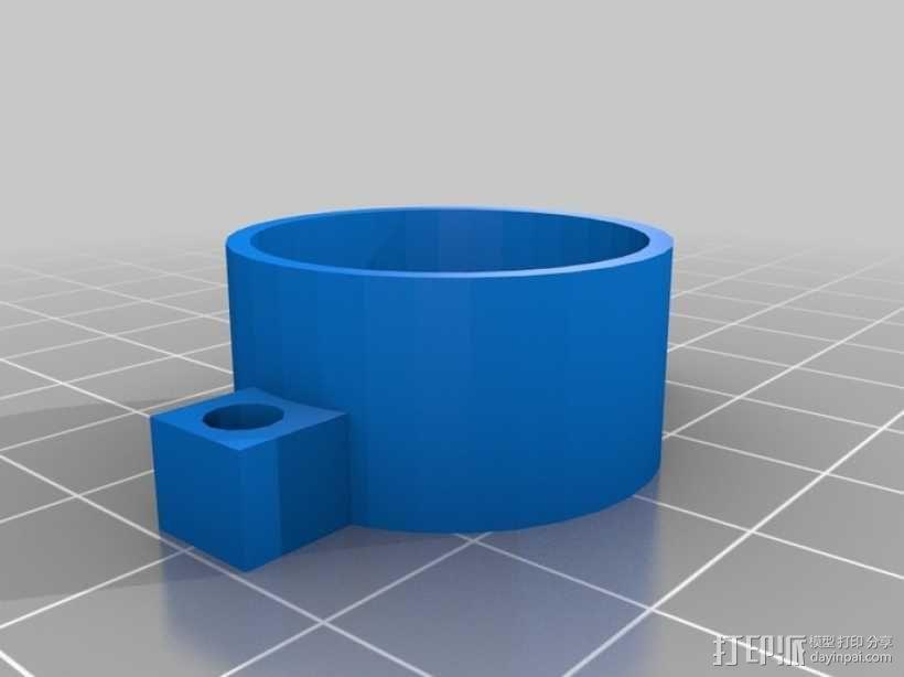 Go Pro Hero 3保护壳 3D模型  图1