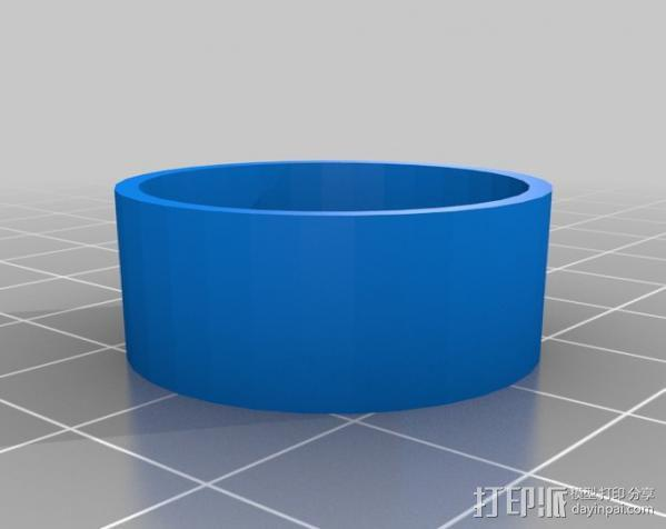 Go Pro Hero 3保护壳 3D模型  图2