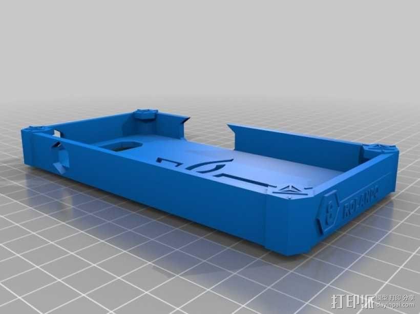 HTC ONE 手机壳 3D模型  图1