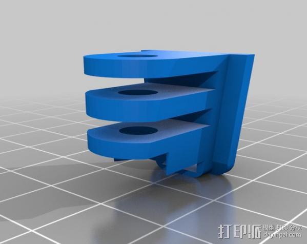 GoPro适配器 3D模型  图4