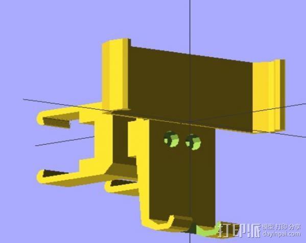 Nexus 4 车载手机座 3D模型  图5