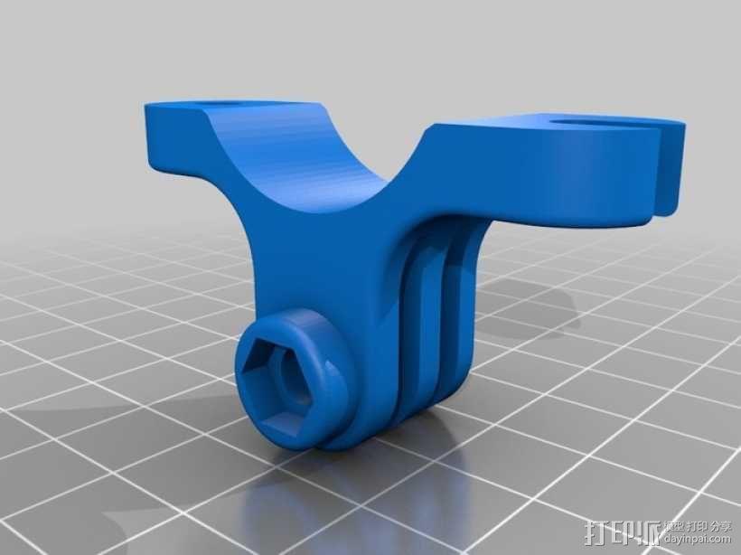 GoPro 适配器 3D模型  图8