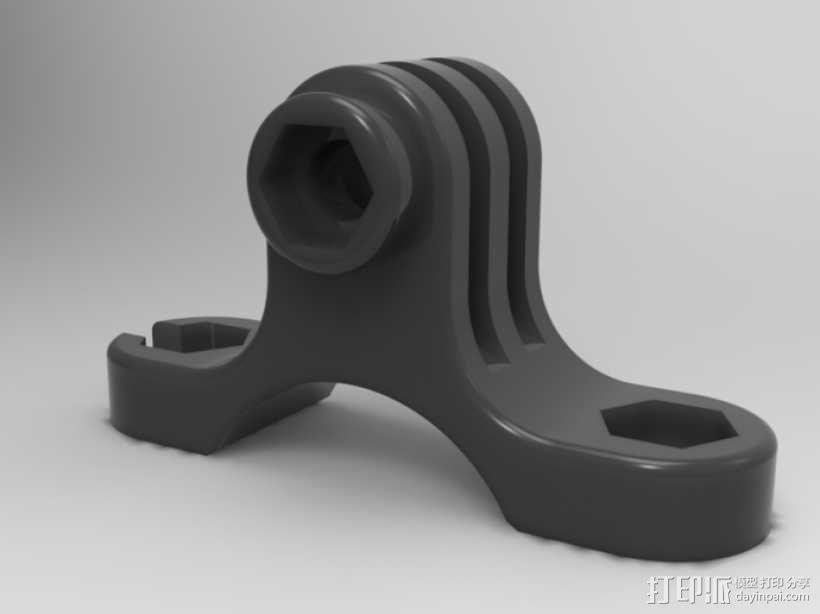 GoPro 适配器 3D模型  图7