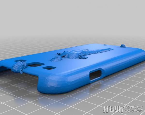 S3手机壳 3D模型  图4