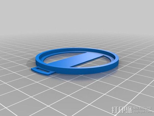 Sony nex镜头盖 3D模型  图1