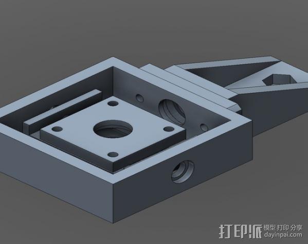 直流拍摄支架 3D模型  图5