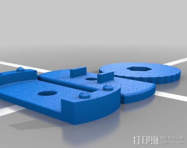 相机直线运动轴· 3D模型  图3