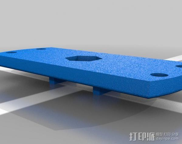 相机直线运动轴· 3D模型  图4