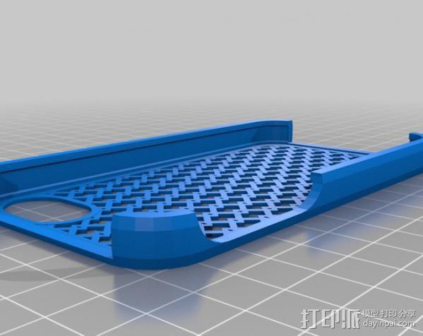 iPhone 4S手机壳 3D模型  图1