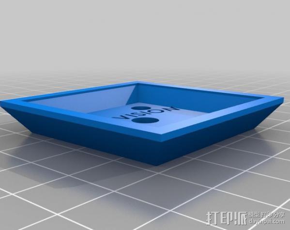 三角板适配器 3D模型  图4