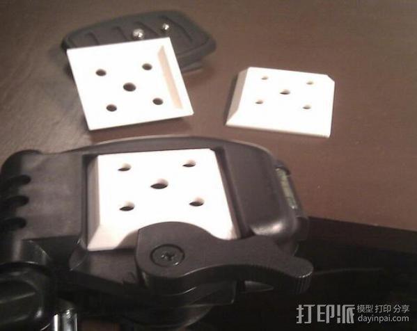 三角板适配器 3D模型  图5