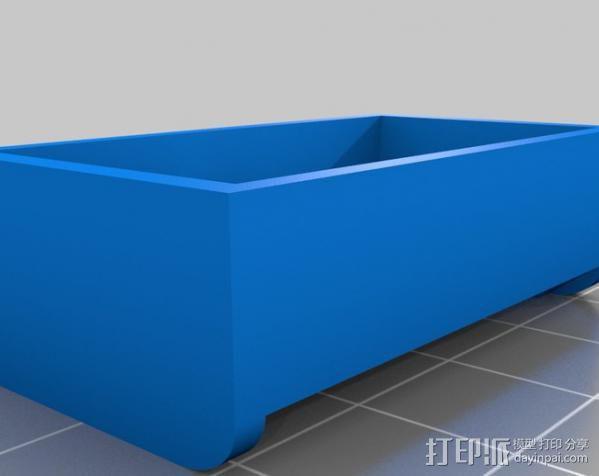 Pentax D-Li90充电器保护壳 3D模型  图4