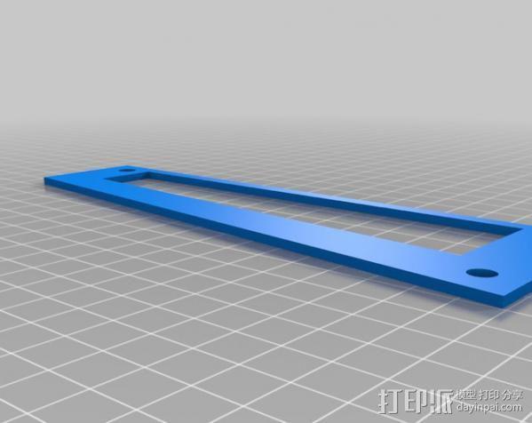 平板电脑支架 3D模型  图1