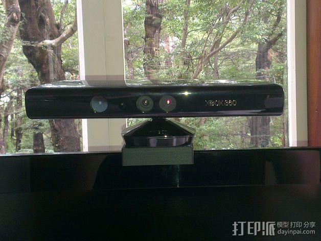Xbox Kinetic 电视适配器 3D模型  图2