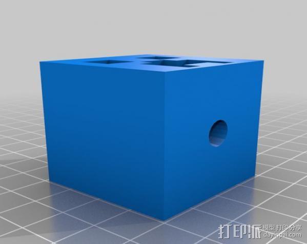 情人节小人摆件 3D模型  图5