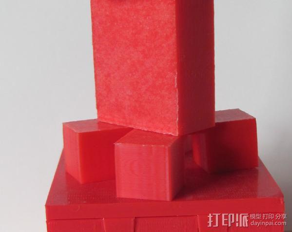 情人节小人摆件 3D模型  图4