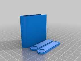 AA电池收纳盒 3D模型